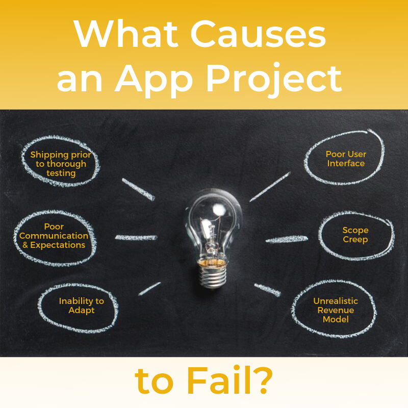 8 reasons app projects fail