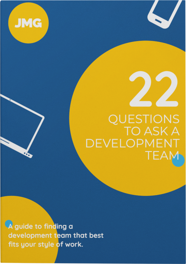 Cover for 22 Questions to Ask Your Development Team